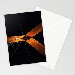 Orange bridge Stationery Cards