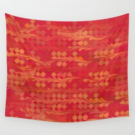 Holiday Tendrils Wall Tapestry