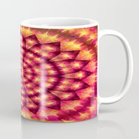 hippie Mugs featuring Hippie Star by NatalieCatLee