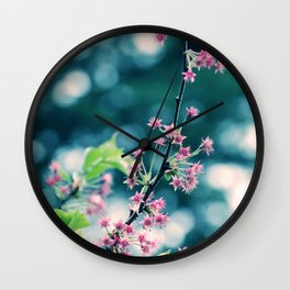 Just for a Moment Wall Clock