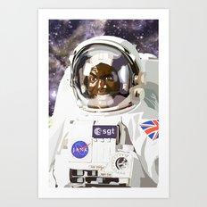 A trip to Planet X Art Print
