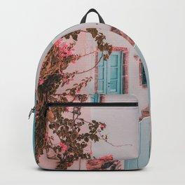 Santorini Greece Backpack