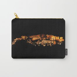Acropolis Night View Carry-All Pouch