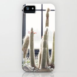 These Old Men  //  The Succulent & Cactus Series iPhone Case
