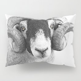 Black and which moorland sheep Pillow Sham