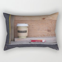 Cigarettes and coffee Rectangular Pillow