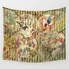Jeune fille de joie usine (Factory girl joy) (2) Wall Tapestry