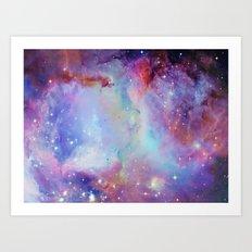 A Galaxy Far Far Away Art Print