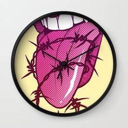 Barbed Tongue Wall Clock
