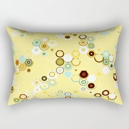 pastel geometric abstract pattern Rectangular Pillow