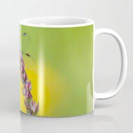 """Yellow dragonfly """"Sympetrum striolatum"""" Coffee Mug"""