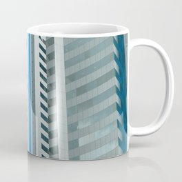 Dynamic Blue Lines Coffee Mug