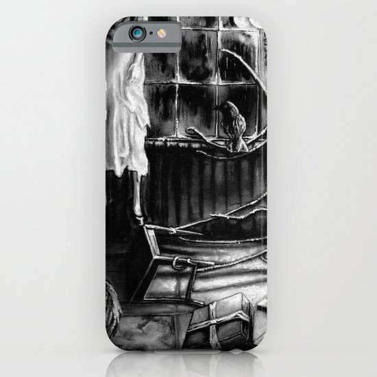 The magic of that Christmas tree. It wraps itself around us every year and will go on forever. iPhone & iPod Case