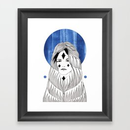 Winter Hymn Framed Art Print