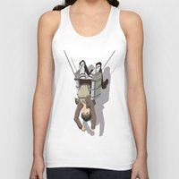 attack on titan Tank Tops featuring Attack on Titan -Shingeki no Kyojin by Daniel Zeni