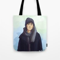 jem Tote Bags featuring Jem Carstairs by taratjah