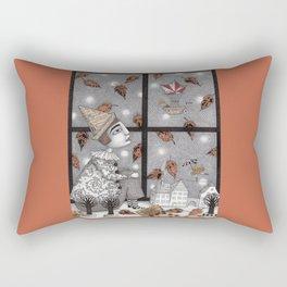 Twilight Hour Rectangular Pillow