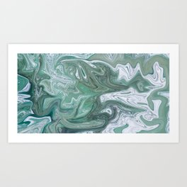 Mixed Melody Art Print