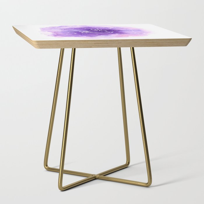 THERE'S COFFEE IN THAT NEBULA Side Table