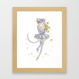 Diana´s human form Sailormoon fanart Framed Art Print