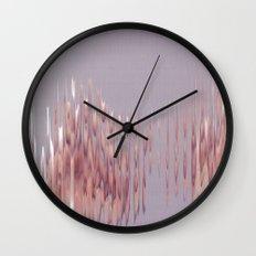Peach River Wall Clock