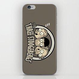 The Three Stoogebergs iPhone Skin