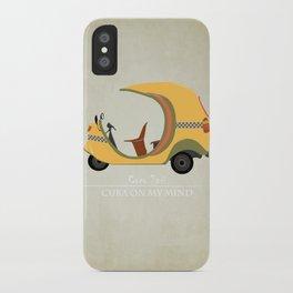 Coco Taxi - Cuba in my mind iPhone Case