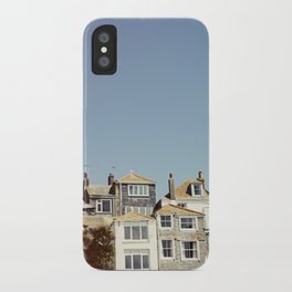St. Ives house with tilt and shift view. iPhone Case