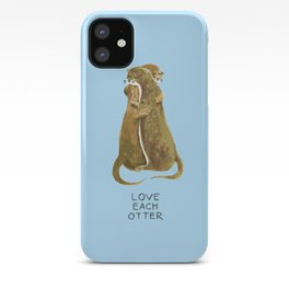 Love each otter iPhone Case