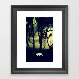 Honey, I'm home! Framed Art Print
