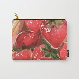 fraises. Carry-All Pouch