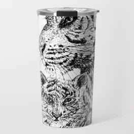 Tiger's family Travel Mug