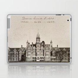 Danvers State Hospital (Danvers Lunatic Hospital), Kirkbride Laptop & iPad Skin