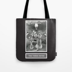 The Three Paths Tote Bag
