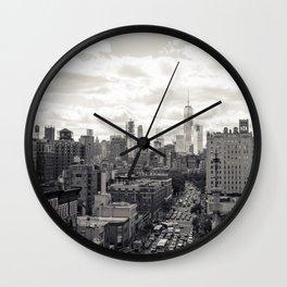 6th Avenue Wall Clock