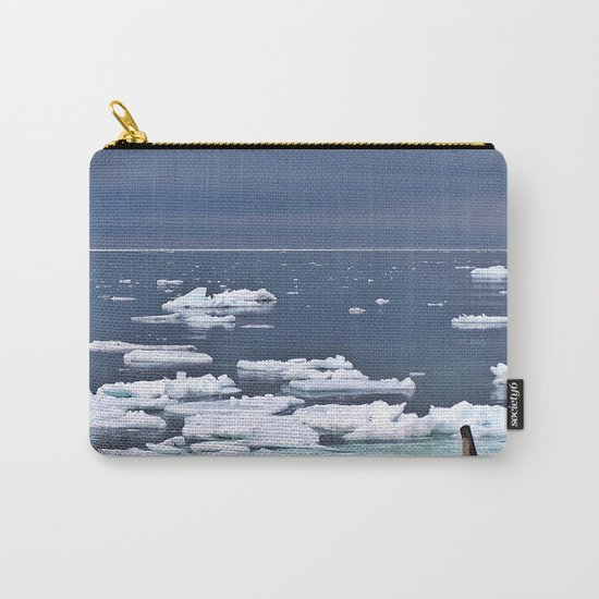 Icebergs on a Calm Sea Carry-All Pouch