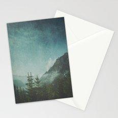 Misty Wilderness - Italian Alps Stationery Cards