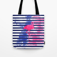 Summer Flamingo Tote Bag