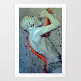 Maynard James Keenan THINK FOR YOURSELF Art Print