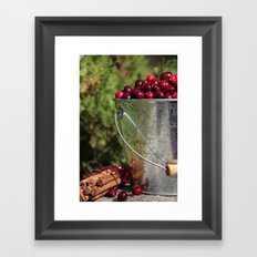 Berries and Spice Framed Art Print