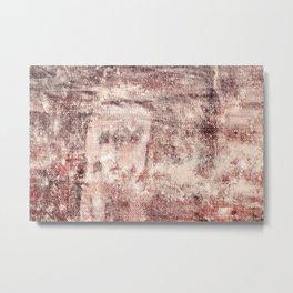 Shipboard texture Metal Print