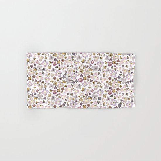 Scattered Hydrangea Hand & Bath Towel