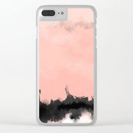 future cities Clear iPhone Case