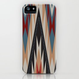 American Native Pattern No. 21 iPhone Case