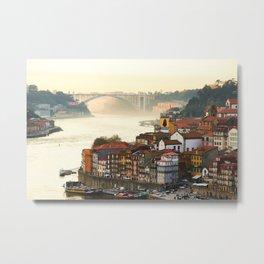 Sunset over the Douro Metal Print