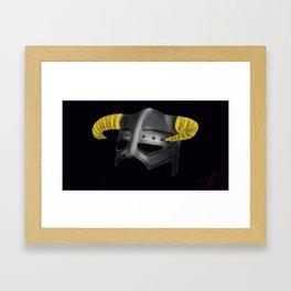 FUS RO DAH (2) Framed Art Print