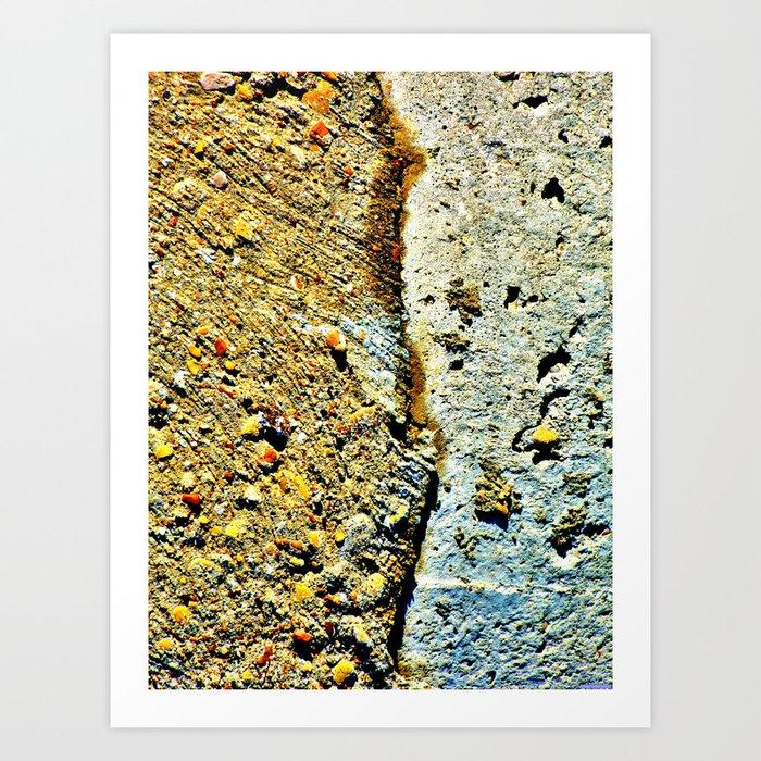 """Vertical Break"" Art Print"