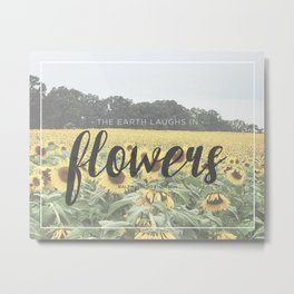 Sunflowers Metal Print