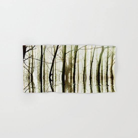 TREE TONES Hand & Bath Towel