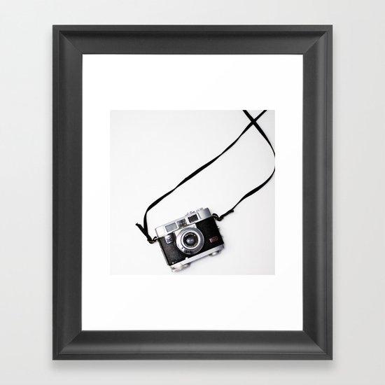 Kodak Vintage Camera Framed Art Print